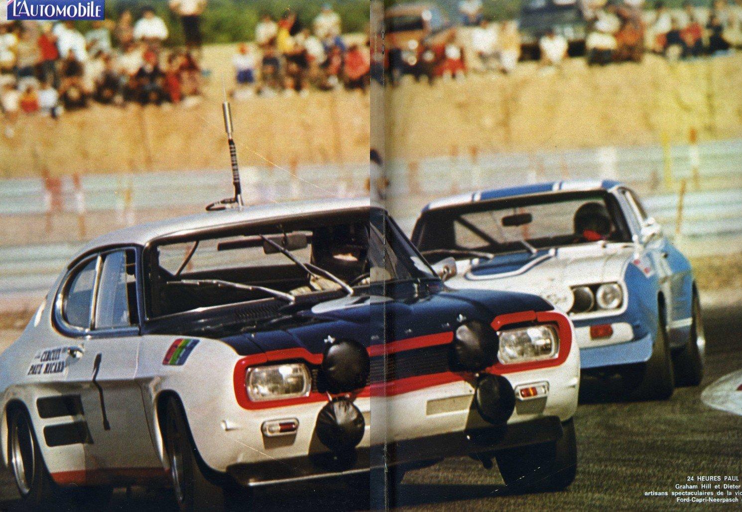 capri-duel dans 1) 1970 à 1990, la légende