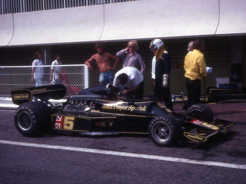 Nilsson sur Lotus 77
