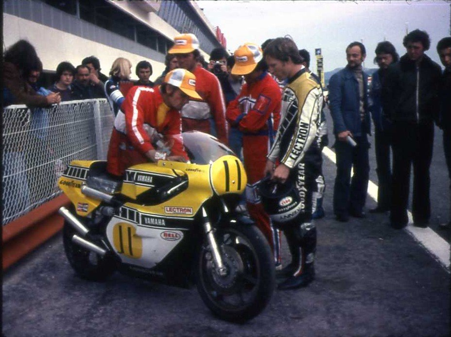kenny roberts team yamaha usa