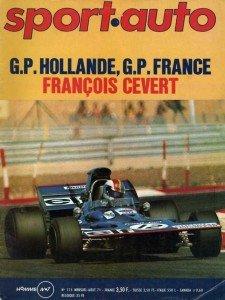 1971, l'année du 1er GP de France F1 au Castellet + les 24H Paul Ricard dans 1) 1970 à 1990, la légende sportauto_aou71001-225x300