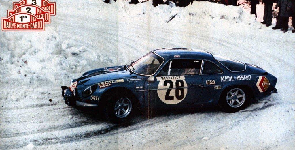 rallye de monte-carlo 2013: ça me rappelle l'Alpine de 1971 dans 4) arrêt au stand montercarlo711